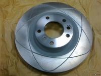 Диск тормоза переднего Mercedes G-W463 - 5.5 AMG # 4634210412 # A 463 421 04 12 # ATE Made for Mercedes # диски бывают только в оригинале - аналогов-заменителей нет . # колодки для этих дисков - 0044204020 #
